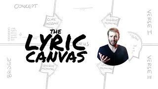 Writing Better Lyrics with the LYRIC CANVAS | Holistic Songwriting
