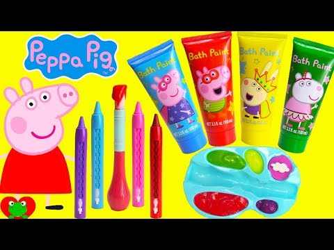 Xxx Mp4 Preschool Learning Video Learn Colors Peppa Pig Play With Paints 3gp Sex