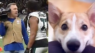 PSYCHO Eagles Fan Throws Dog In MICROWAVE After Loss To The The Saints!