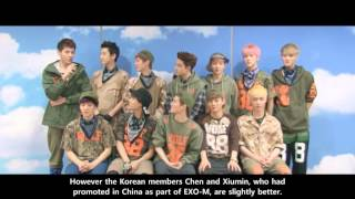 [xinmsn] Which Chinese member in EXO is the best in Korean