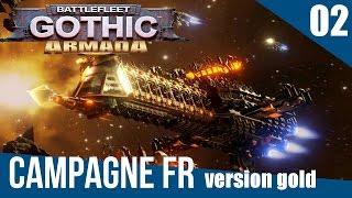 [FR] Battlefleet Gothic Armada Gameplay – Campagne Ép. 2 – Mission de défense de transporteurs