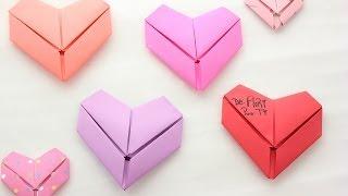 Cómo doblar tus cartas en forma de corazón - floritere - 2014