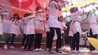Republic day 2017 dance from chid samll girl