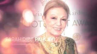FARAH PAHLAVI, recipient of this years' Hope Award at The Look! Women of the Year