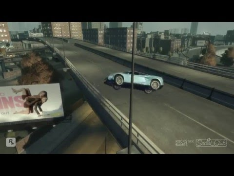 GTA IV Mortes Tombos e Acidentes