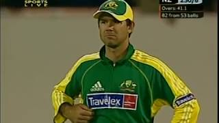 Don't laugh at Mitchell Johnson funny fail, gets hit *OUT OF THE GROUND* on debut in 2005
