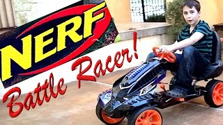 Nerf Battle Racer with the best bros, Rob & Will!
