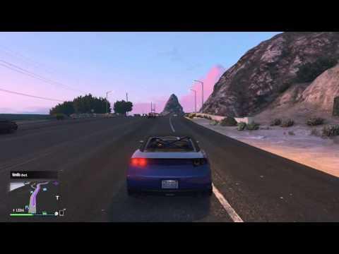 GTA5 (Next Gen) [PS4] steeling a jet and killing