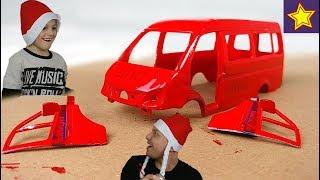 Полицейская Газель Машинка на Покраске Делаем новый проект с машинками Cars Toys Painting