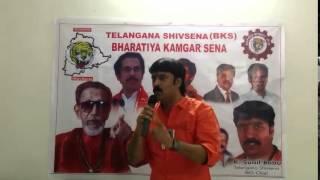 ShivSenaTelangana Sunilbabu answer to Akbaruddin OwaISI Hate Speech PART2
