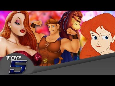 Top 5 Mensajes Subliminales de Disney HD