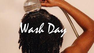 Wash Day - 4b/4c Natural Hair Routine   Gloria Ann (Updated)
