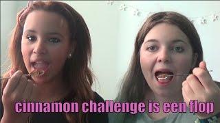 CINNAMON  CHALLENGE IS EEN FLOP!!!!