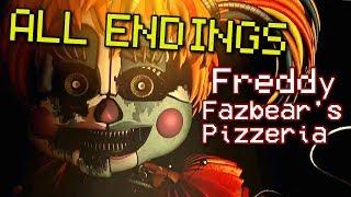 FINAL NIGHT GOOD / TRUE END - Freddy Fazbear
