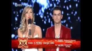 Petro - Jingle bells (X Factor Albania 2 - Live Show)