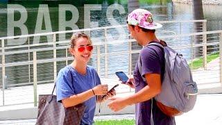Hitting On College Babes!! (Miami)