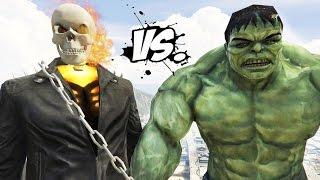 THE HULK VS GHOST RIDER - EPIC SUPERHEROES BATTLE   DEATH FIGHT