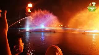 فلوق :جولة في فيستفال سيتي /فعاليات  صيف دبي /عرض النافورة الراقصة