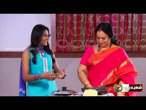 Celebrity Kitchen with Actress Nalini & Coreographer &Actor Ramji- Part 2 (06/07/2014)