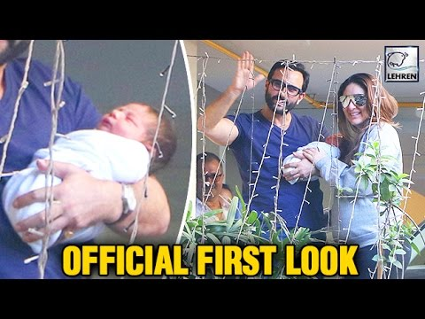 Kareena Kapoor's Baby Taimur Ali Khan's First OFFICIAL Look   LehrenTV