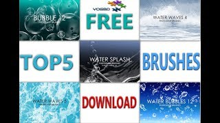 Top 5 water brushes photoshop | Free download 2500×2500 Pexels