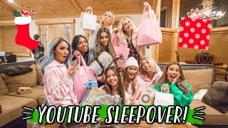 MY FIRST YOUTUBE SLEEPOVER!!!!