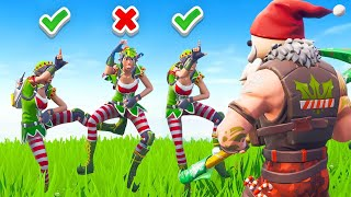Listen To Fortnite Santa... Or Else (Santa Says)