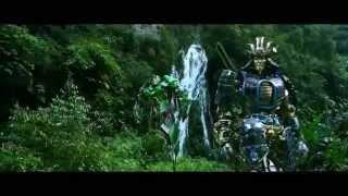 Transformers A.O.E Drift scenes