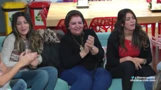 والدة محمد عباس تغني مع الطلاب وتحضر لهم المعكرونة بالبشاميل - ستار اكاديمي 11 - 12/12/2015
