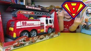 SAM il POMPIERE - CAMION dei Pompieri, Nuovo episodio con Super Alex Giocattoli Magic Toys Center