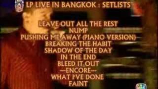 Scoop Video : Linkin Park Live in Bangkok 2007  Episode 1