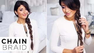 Chain Braid | DKNY Inspired Hairstyle