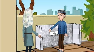 Abdul Bari learning wudu (Ablution) with father | Urdu