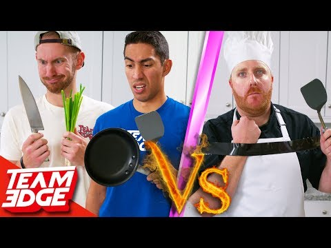 Amateurs vs One Handed Chef Can They Beat a Pro