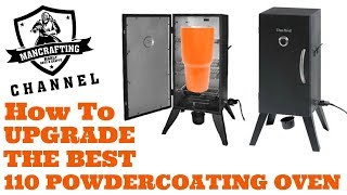 110 Powdercoat oven Upgrade | Cheap