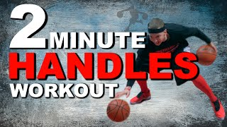2 Ball Dribbling Drills Workout | 2 Ball Advanced Dribbling Drills | Get More HANDLES