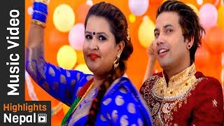 Malai Sari Kindeuna Pandhra Hajarma | New Nepali Teej Song | Ritu Chand Thakuri, Khem Bhandari