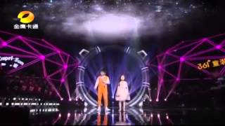 China Got Talent-You Raised Me Up Duet