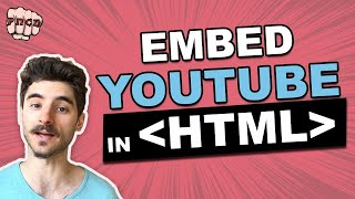 Embed a YouTube Video in HTML and Make it Responsive (CSS included)