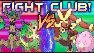 NORMAL vs GRASS MONO-TEAM! Competitive Pokemon ( PFC Type Tournament) #3