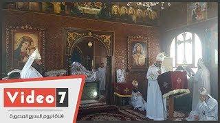 قداس احتفالى بدير مارمينا بالإسكندرية لمرور 1700عام على تدشين أول كنيسة