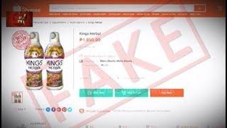 Lazada, Shopee, OLX, Carousell -hindi awtorisado ng REH Kings Herbal!