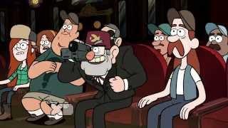 Ruin the sock puppet show- Gravity Falls scene