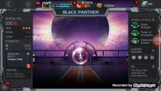 New black panther civil war marvel contest of champions