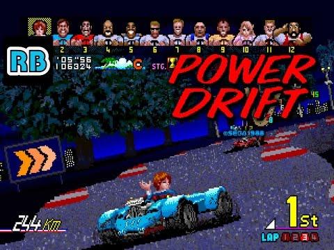 1988 [60fps] Power Drift Course C 7'23''40 ALL