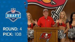 Dick Vitale Jokes He's the 108th Pick, Announces Buccaneers Pick: Ryan Smith (CB) | 2016 NFL Draft