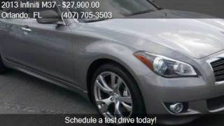 2013 Infiniti M37 Base 4dr Sedan for sale in Orlando, FL 328