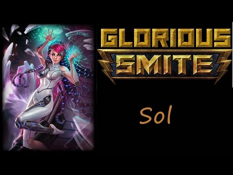 SMITE Sol Solo (Unkillable Sol build) ~ The geb carry though!