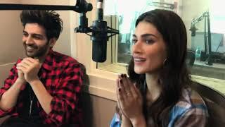 Best Ever Interview Of Kriti Sanon & Kartik Aaryan | Luka Chuppi | HrishiKay
