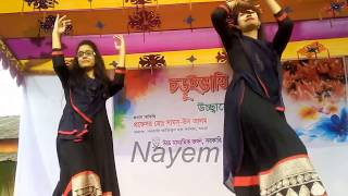 বগুড়ার দুই ডানা কাটা পরীর নাচ দেখুন মন ভরে যাবে/ Bangla Concert Dance 2017